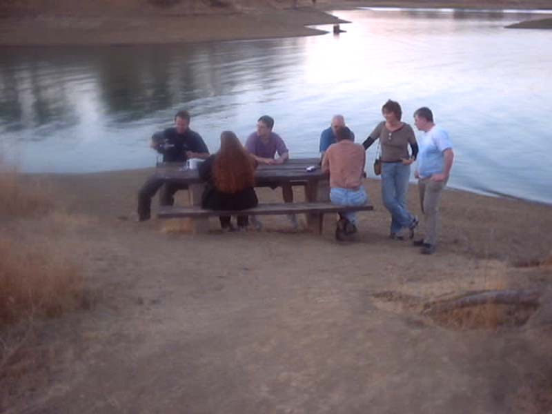 at the Lake Berryessa crime scene  known to locals as  quot Zodiac IslandZodiac Movie Lake Scene